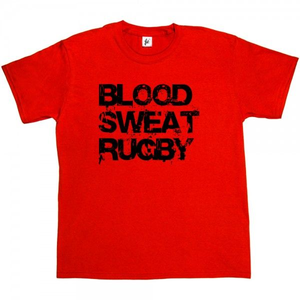 Blood Sweat Rugby Love Rugby - Fancy A T-Shirt