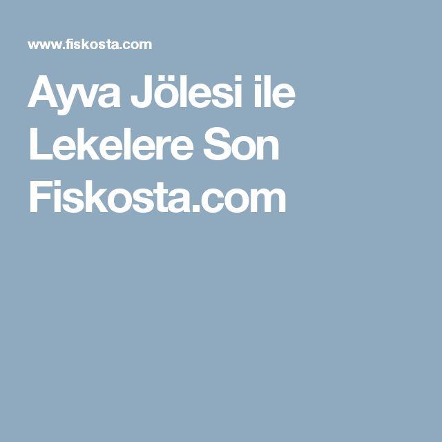 Ayva Jölesi ile Lekelere Son Fiskosta.com