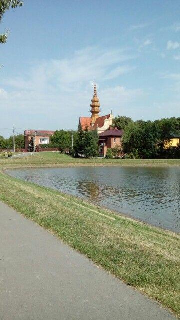 Kościół ⛪#zalew #Koprzywnica #świętokrzyskie #Polska