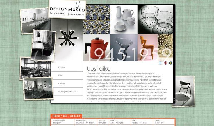 Designmuseon Kulta-aika -verkkonäyttely