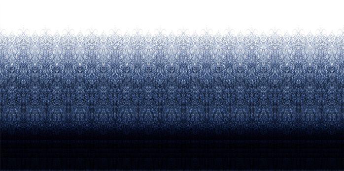 Ballpoint Scribble wallpaper design by Alissia Melka-Teichroew