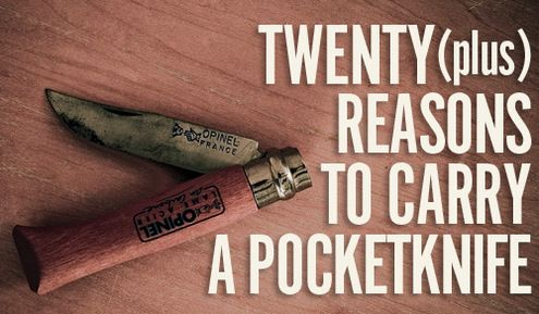 Roundup: 20+ Ways to Use a Pocketknife