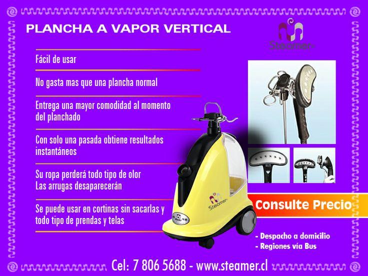 Plancha a vapor vertical steamer www.steamer.cl