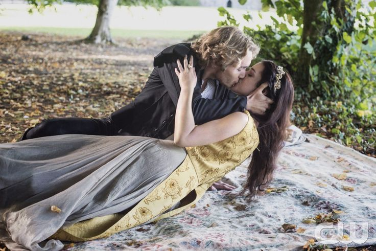 """Reign -- """"Hearts and Minds"""" -- Image Number: RE104c_0262.jpg -- Pictured (L-R): Toby Regbo as Prince Francis and Adelaide Kane as Mary, Queen of Scots -- Photo: Bernard Walsh/The CW -- © 2013 The CW Network, LLC. All rights reserved."""