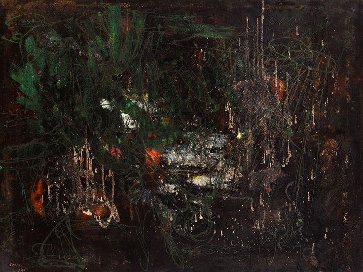Francois Fiedler 1950 oil on canvas 95 x 126 cm - Kalman Maklary Fine Arts