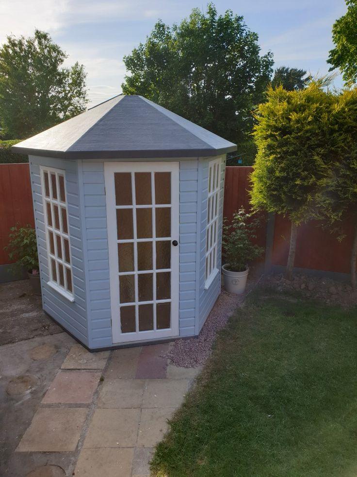 Hexagonal Summerhouse   Summer house, Outdoor structures ...
