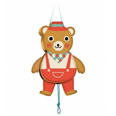 Djeco Pantin en bois : Ours Gaby  - marque : Djeco Pantin en bois : Ours Gaby... prix : 9,45 €  chez Avenue des Jeux #Djeco #AvenuedesJeux