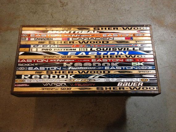 Hockey Sticks Hockey And Coffee Tables On Pinterest