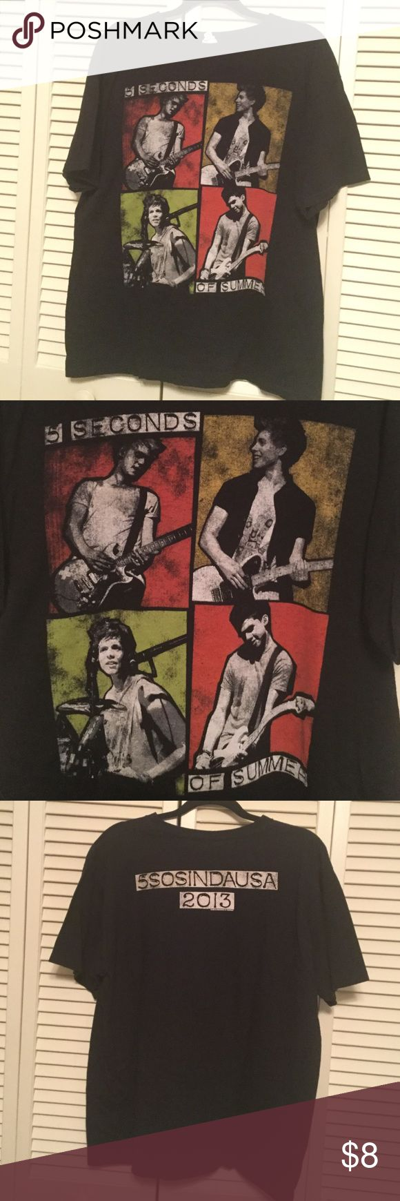 5sos Tour Bought off the official 5sos website. Tops Tees - Short Sleeve