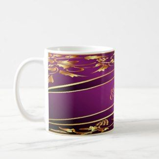 New interior products: Elegant coffee mugs with your name