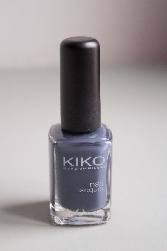 #Kiko #grey #nailpolish