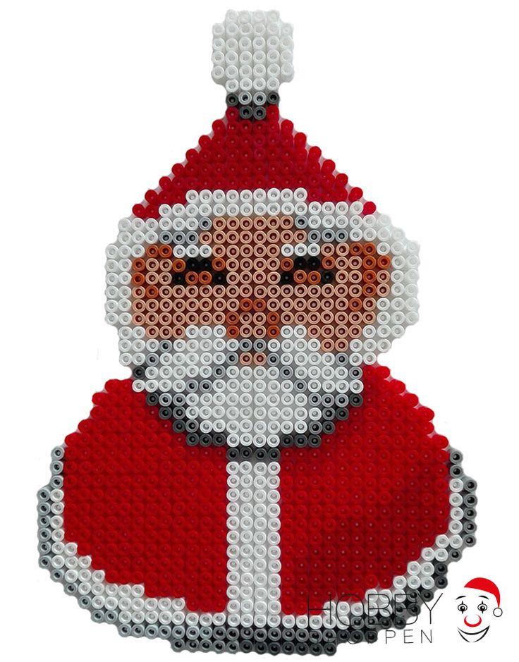 Julemand af Hama perler