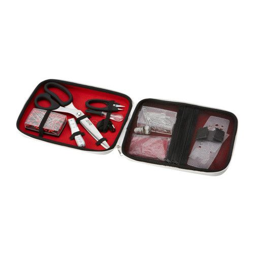 $15 Ikea  SY 15-piece sewing kit set IKEA Contains basic sewing accessories. Easy to get started.