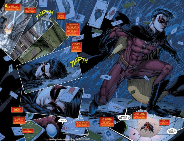 Death of the Family – 26 – Teen Titans 015 | Viewcomic reading comics online for free
