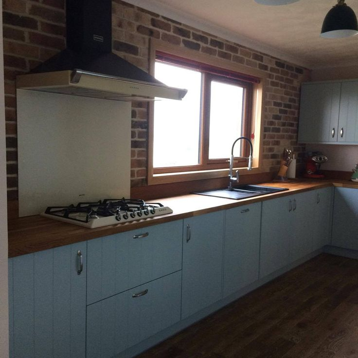Complete Kitchen Project using Autumn Blend Brick Slips