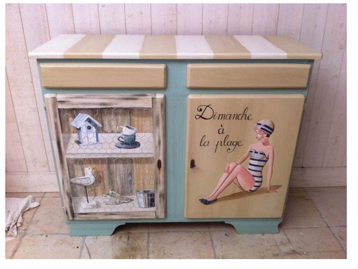 les 486 meilleures images propos de vintage sur pinterest po le kitchenettes et armoires. Black Bedroom Furniture Sets. Home Design Ideas
