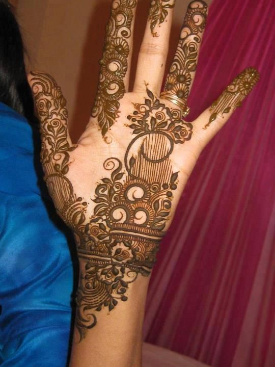 Pakistani Mehndi Designs | Simple-Pakistani-Mehndi-Designs-2013- (13)