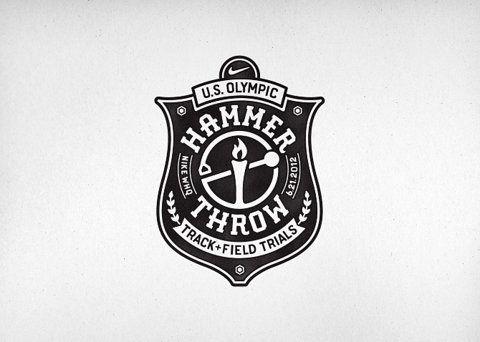 Hammer throw logo
