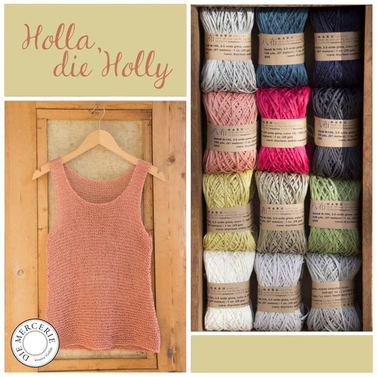 Holly aus der HABU wide cotton gima. www.diemercerie.com.