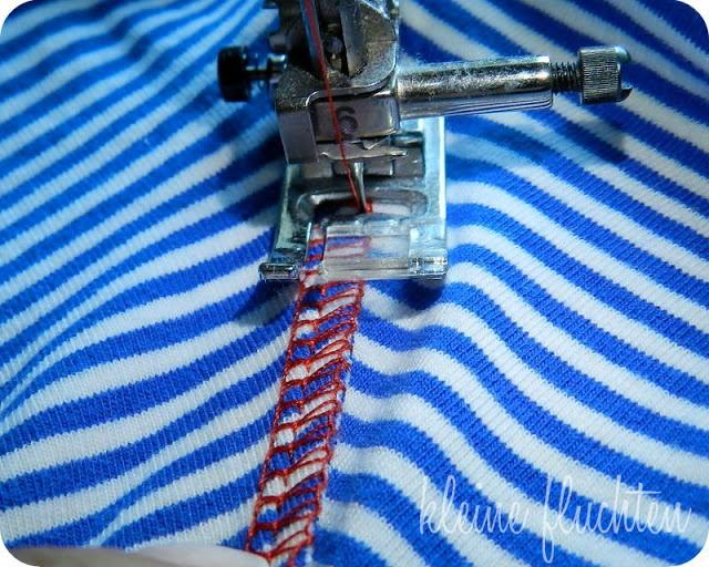 kleine fluchten: Coverstich Fake | How to? Sewing ...