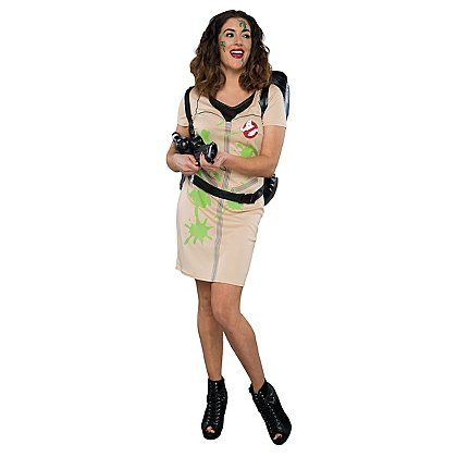 Halloween Ghostbusters Fancy Dress Costume | Women | George at ASDA