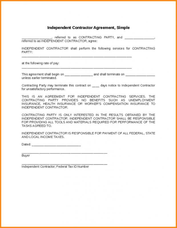 Free Construction Contract Template Contract Template Construction Contract Contract