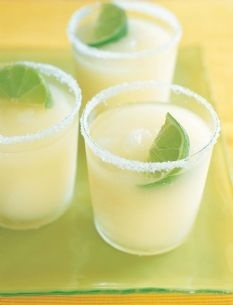 Real Margaritas: These are seriously the best. Simple and tart and not thick and icy. But be careful... They are strong!