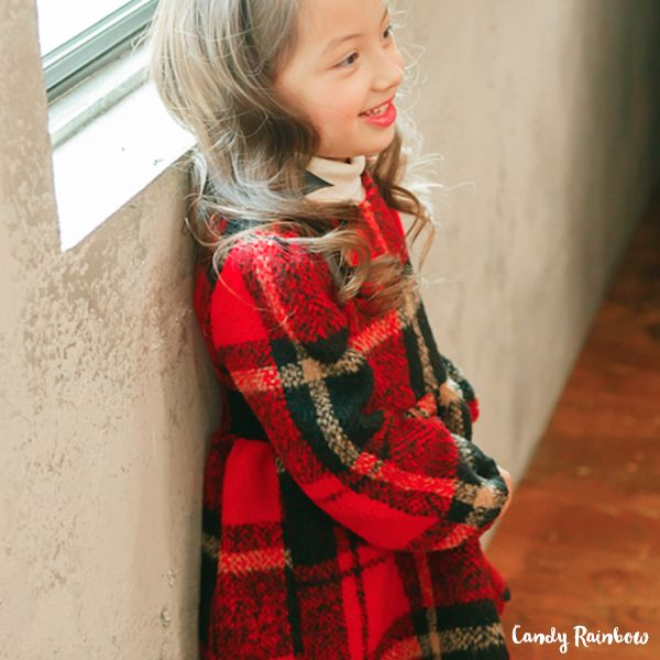 SCOTLAND CHECKERED DRESS by KIO COCO