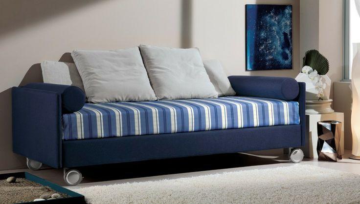BADROOM - centri camerette specializzati in camere e camerette per ragazzi - divano letto con ruote