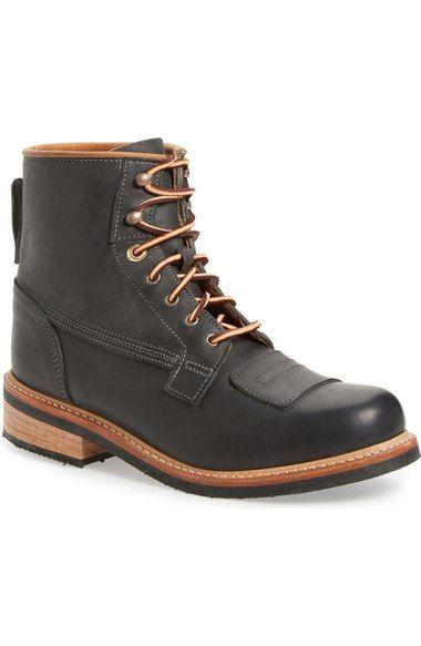 'Smugglers' Plain Toe Boot