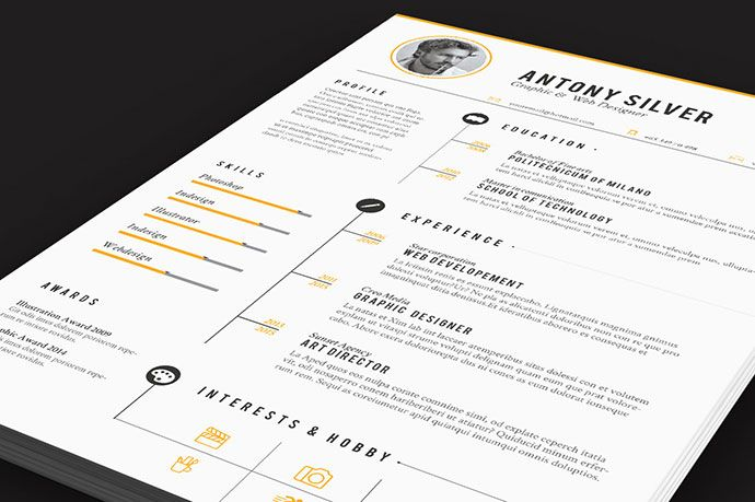 The 30+ Best Resume Templates Of 2016
