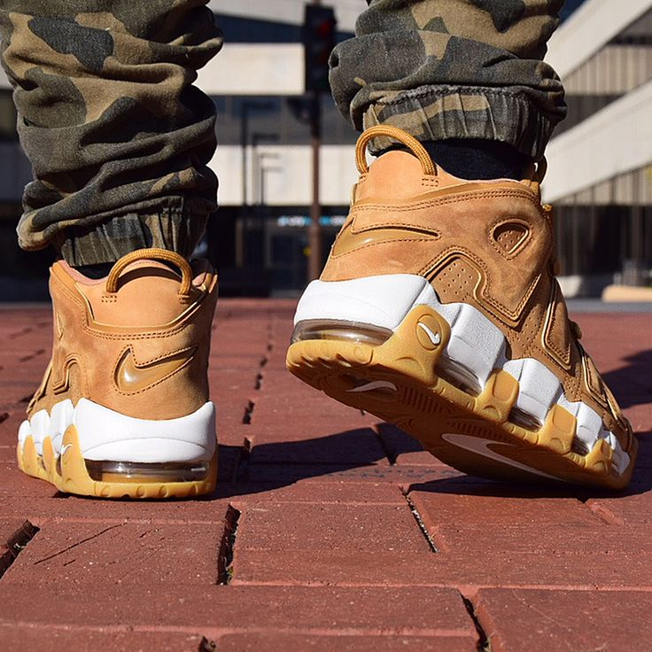 Fall's favorite color just dropped. The Nike Air More Uptempo 'Flax' is available now. #Nike #Uptempo #kicks #sneakers #Nikeshoes #shoes
