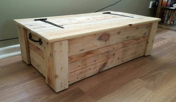 Pallet wood Chest by BauckhamDesigns on Etsy