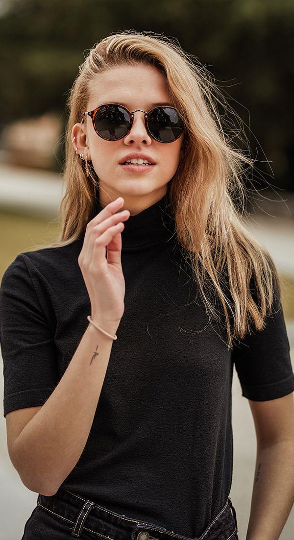 Women Fashion Retro Style UV 400 Protection Sunglasses VILR