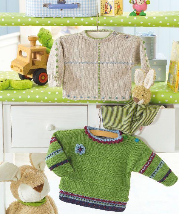 Free Pattern: Baby's Sweater
