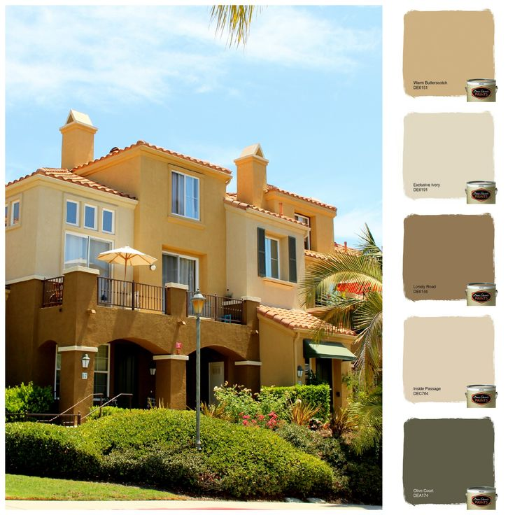 Color Scheme 1 That We Did At Corte Melina Out In Rancho