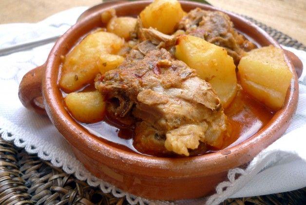 Patatas con espinazo a fuego lento 2
