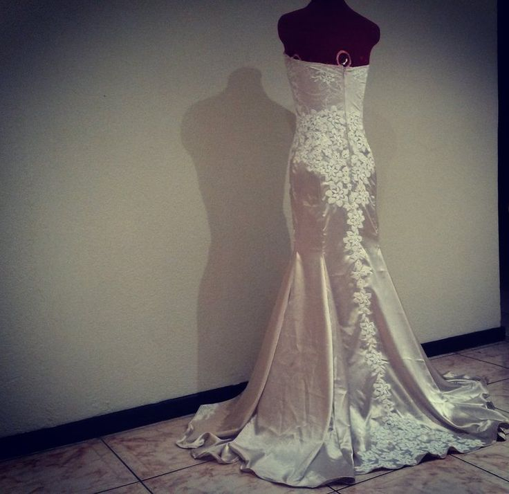 Sweetheart Trumpet Gown by Boo Le Heart