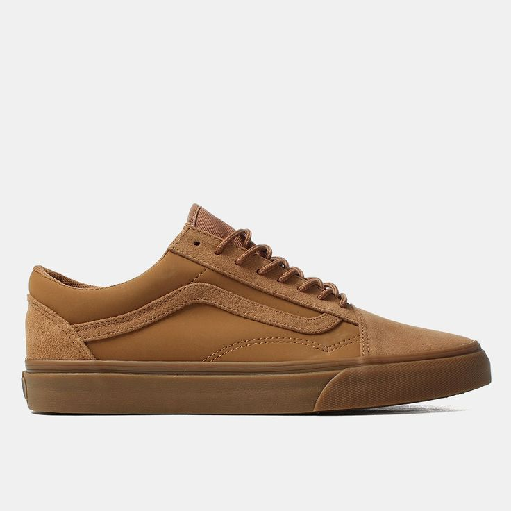 Vans Shoes Old Skool Shoes Suede Buck Tobacco Brown