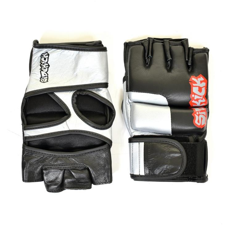 Pro MMA fight gloves www.sidekickboxing.co.uk