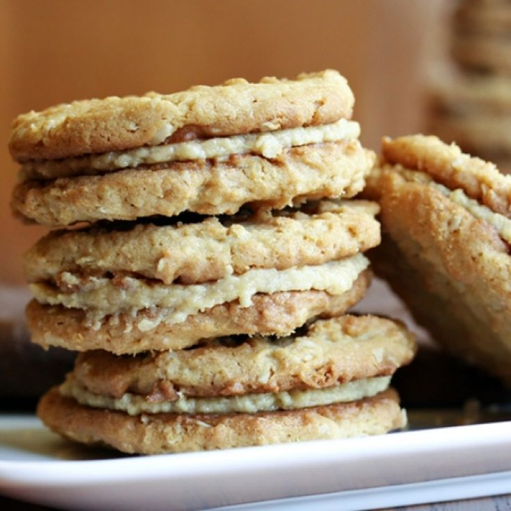 A chewy and wholesome cookie, great with a cup of coffee.. Oatmeal Crisp Sandwich Cookies Recipe from Grandmothers Kitchen.