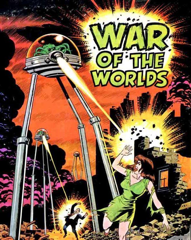 War of the Worlds -Wally Wood - Pulp Art
