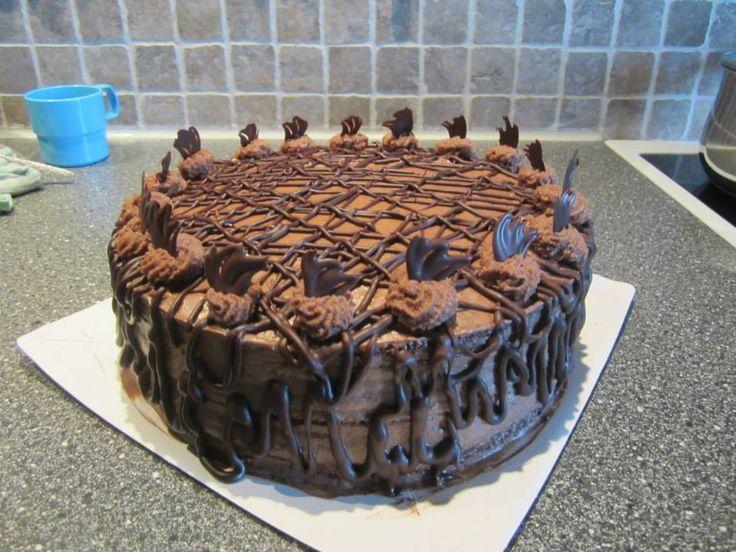 sjokolade kake