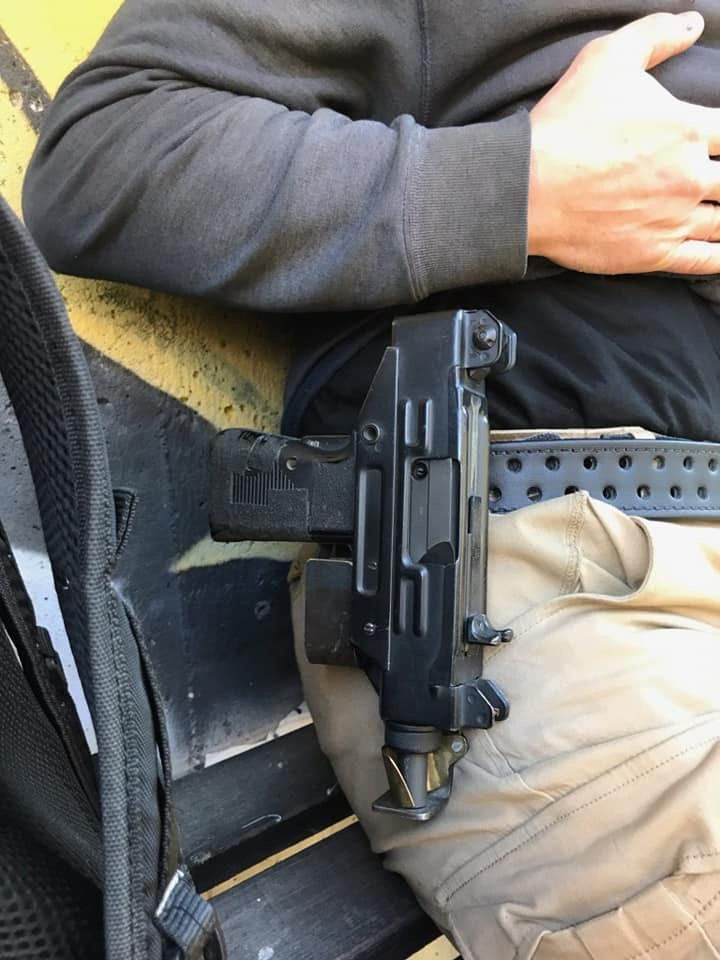 POTD: Bro, do you even holster your Uzi? -The Firearm Blog