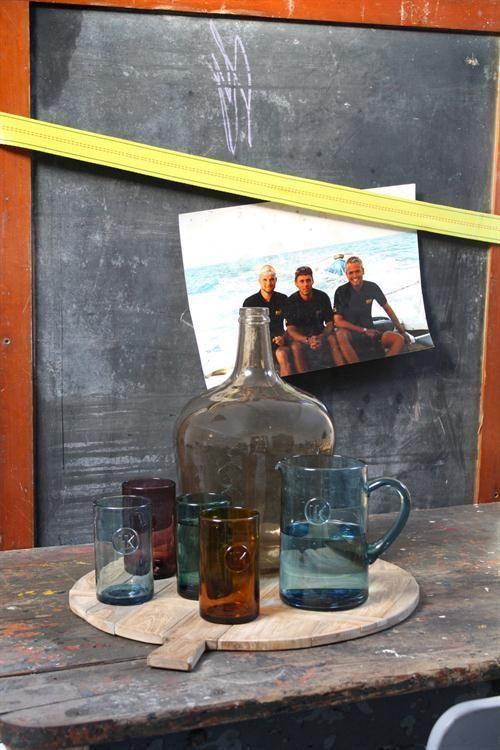 Kan Smoke - Blauw - 1,5 lt - HK Living - Woonwebwinkel LiL.nl