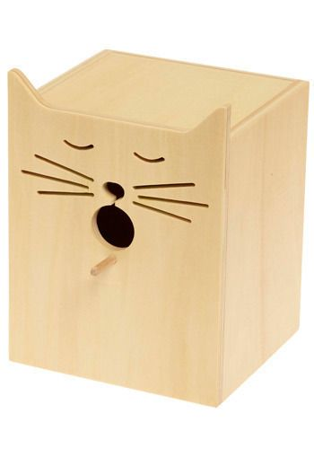 Cat birdhouse ... would this be a cat house?