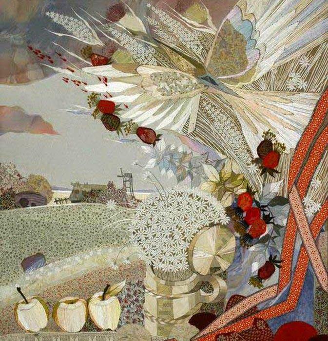 Утренний свет: текстильное искусство