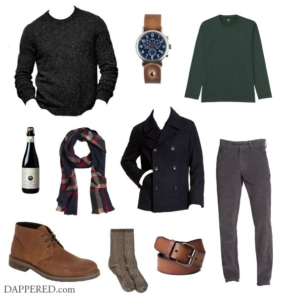 Christmas Party Attire Ideas Part - 39: Style Scenario: Laid Back/Casual Christmas Party | Dappered.com