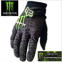 Monster Fox racing gloves
