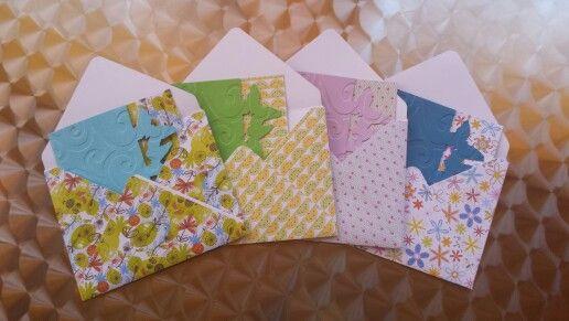 Schmetterlingskarte in diversen Designs